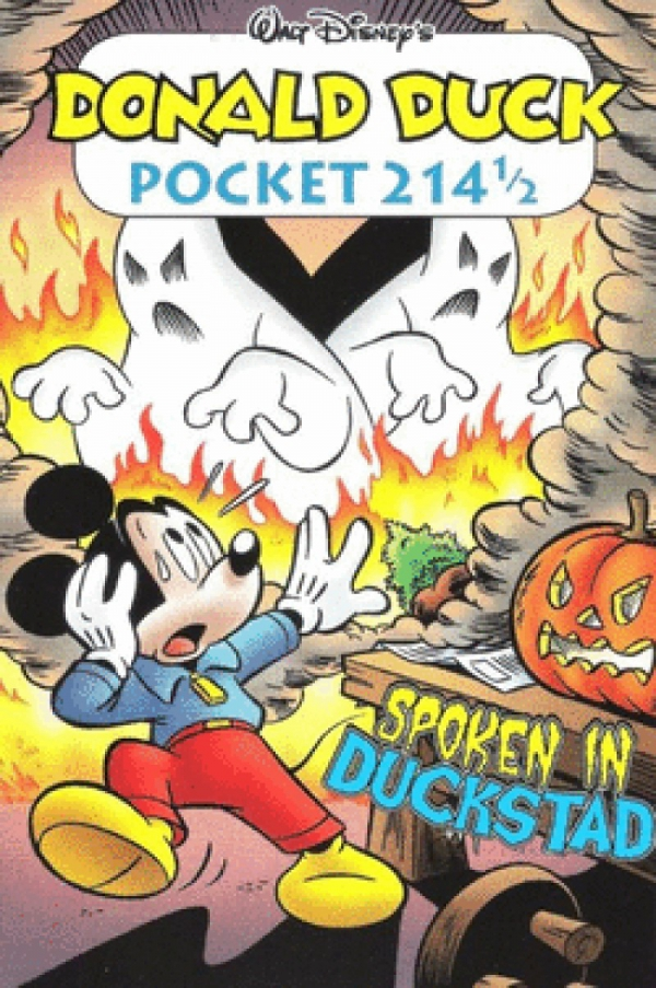 Donald Duck pocket 214 1/2- Spoken in Duckstad