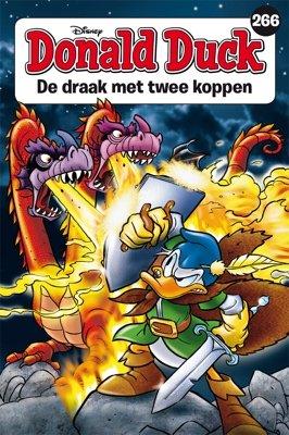 266 - Donald Duck pocket - De draak met twee koppen