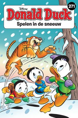 271 - Donald Duck pocket - Spelen in de sneeuw