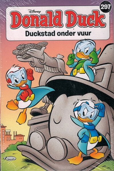 297 - Donald Duck pocket - Duckstad onder vuur
