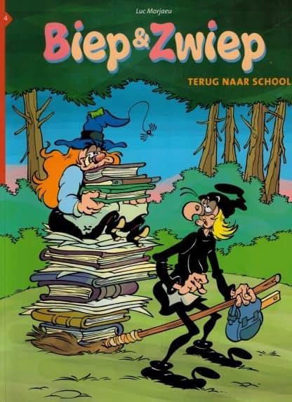 Biep & Zwiep - Terug naar school - Luc Morjeau - Deel 4
