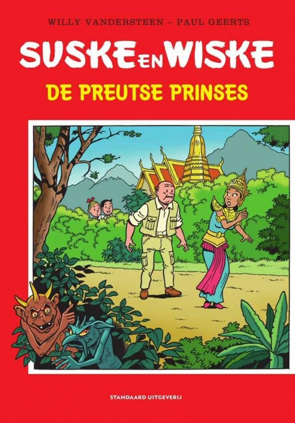Suske en Wiske - De preutse prinses - 2020