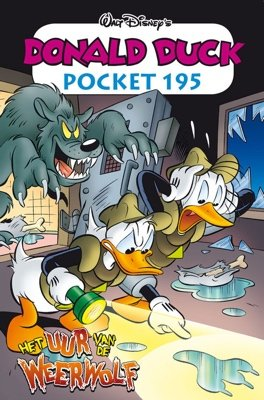 195 - Donald Duck pocket - Het uur van de weerwolf