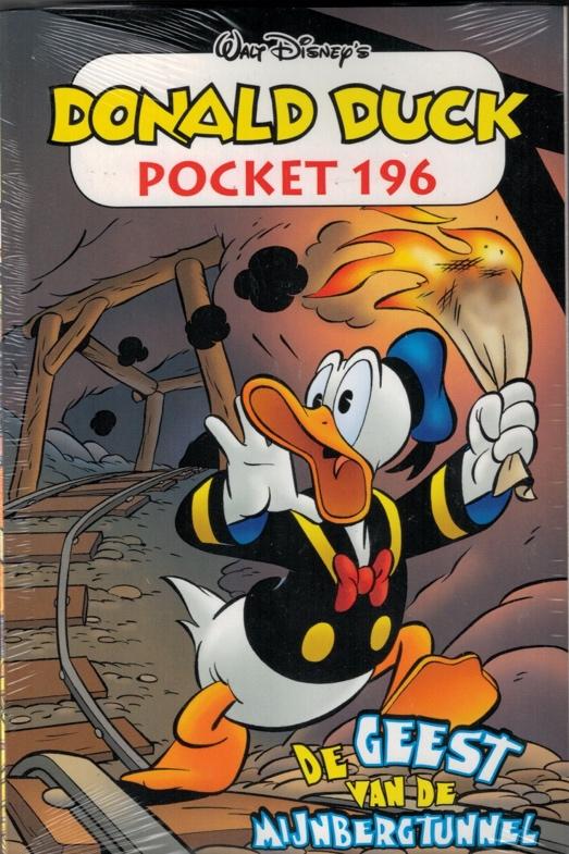 196.Donald Duck pocket - De geest van de mijnbergtunnel