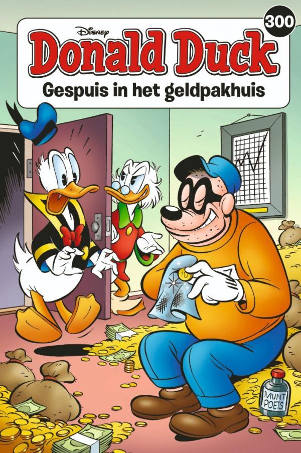 300 - Donald Duck pocket - Gespuis in het geldpakhuis