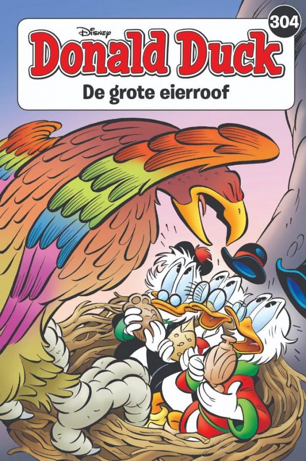 304 - Donald Duck pocket - De grote eierroof