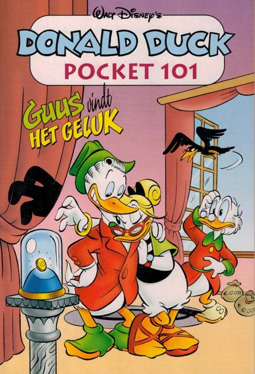 101 - Donald Duck Pocket - Guus vindt het geluk