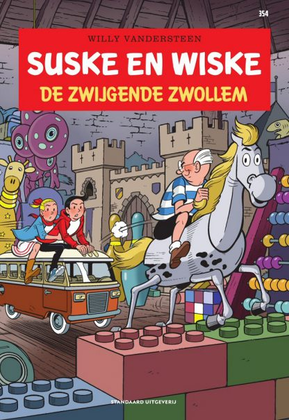 Suske en Wiske - Deel 354 - De zwijgende Zwollem - De rode reeks - oktober 2020