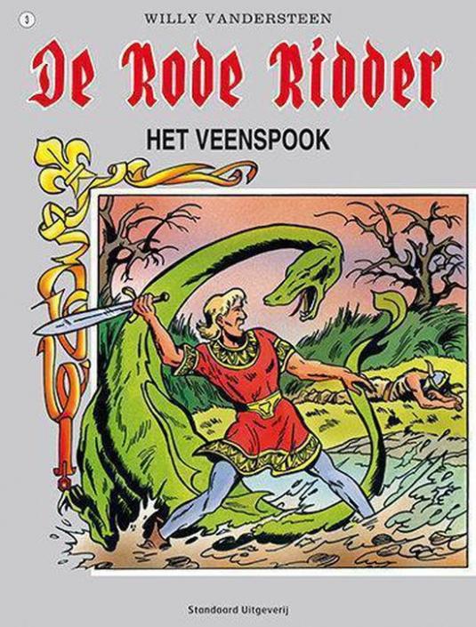 003 - De rode ridder - Het veenspook