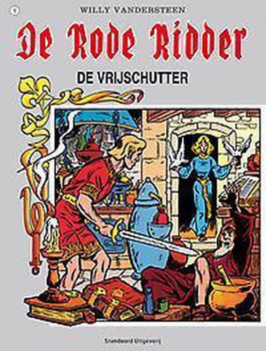 005 - De rode ridder - De vrijschutter