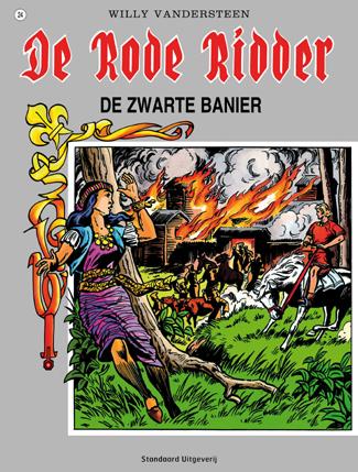 024 - De rode ridder - De zwarte banier