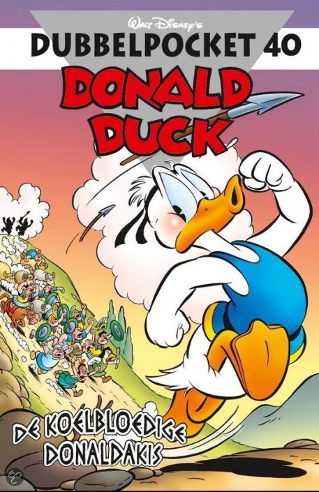 040 - Donald Duck Dubbelpocket - De koelbloedige Donaldakis