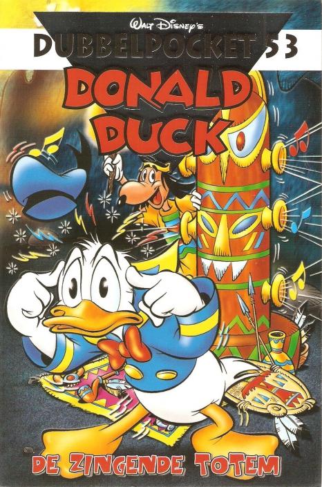 053 - Donald Duck Dubbelpocket - De zingende totem