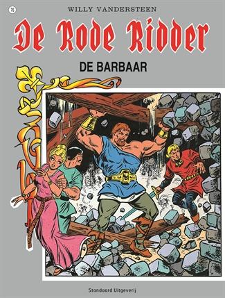 076 - De rode ridder - De barbaar