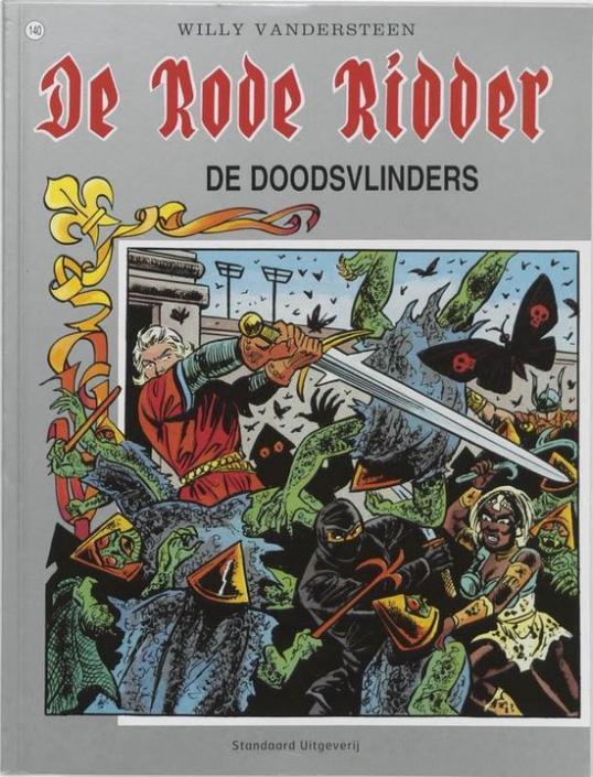 140 - De rode ridder - De doodsvlinders