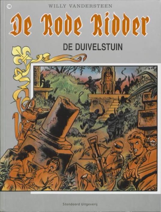 158 - De rode ridder - De duivelstuin