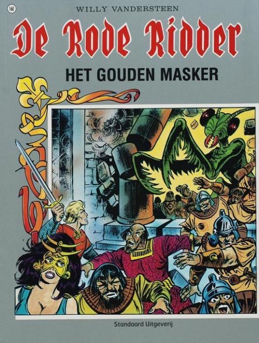 160 - De rode ridder - Het gouden masker