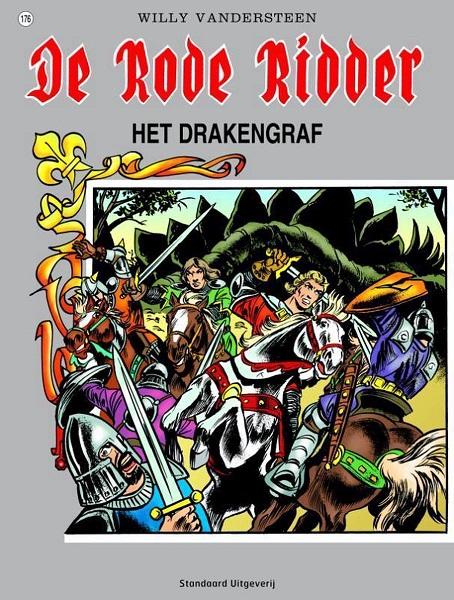 176 - De rode ridder - Het drakengraf