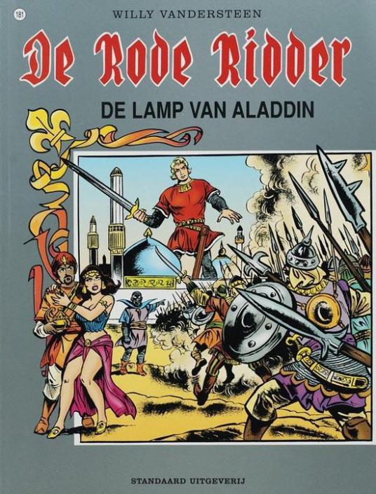 181 - De rode ridder - De lamp van Aladdin