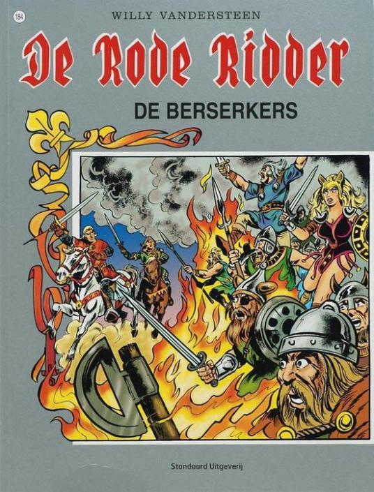 184 - De rode ridder - De Berserkers