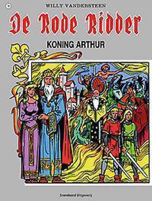 19 - De rode ridder - Koning Arthur