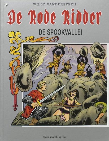 190 - De rode ridder - De spookvallei