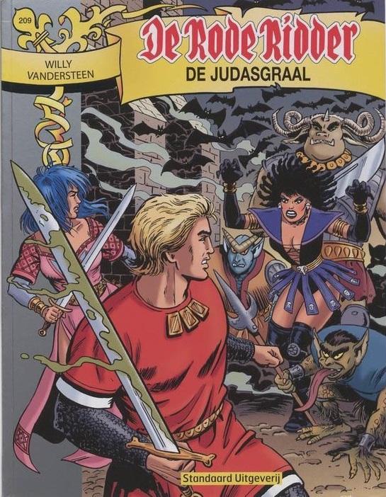 209 - De rode ridder - De Judasgraal