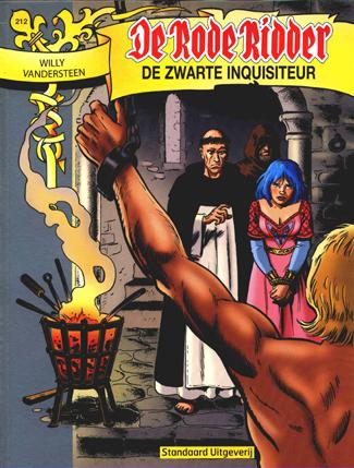 212 - De rode ridder - De zwarte inquisiteur