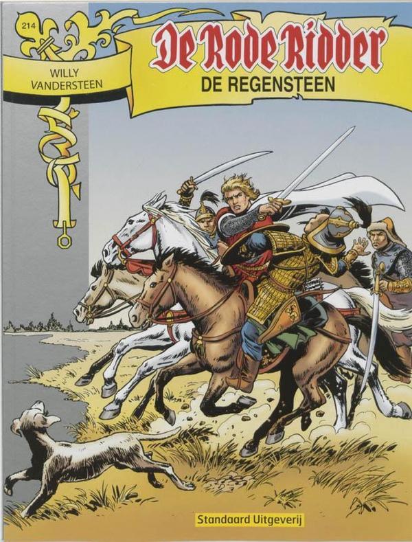 214 - De rode ridder - De regensteen