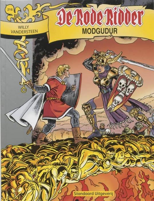 216 - De rode ridder - Modgudur