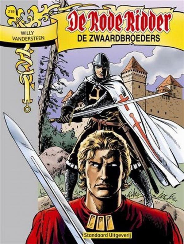 219 - De rode ridder - De zwaardbroeders