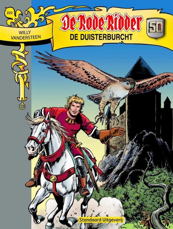 222 - De rode ridder - De Duisterburcht