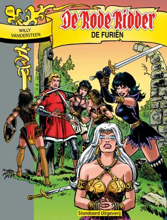 225 - De rode ridder - De furiën