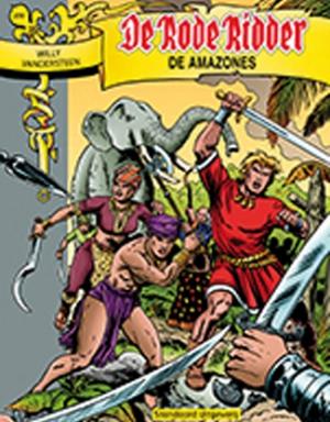 230 - De rode ridder - De Amazones