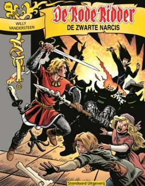 236 - De rode ridder - De zwarte narcis