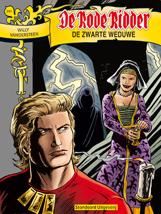 241 - De rode ridder - De zwarte weduwe