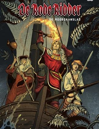 265 - De rode ridder - De moordaanslag