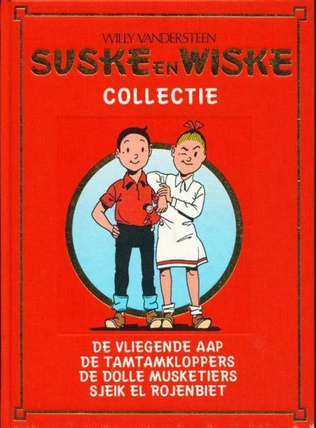 06 - Suske en Wiske - Luxe rode band: 87.De vliegende aap (Lecturama)