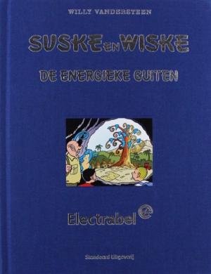 Suske en Wiske - De energieke guiten - luxe Electrabel
