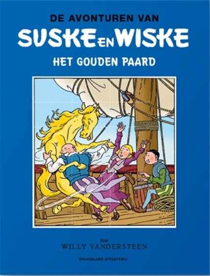 Suske en Wiske - Het gouden paard - Blauwe reeks - 2020 - Humo