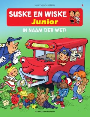 3.Suske en Wiske Junior - In naam der wet