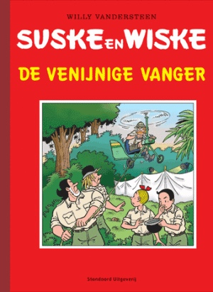 Suske en Wiske - De venijnige vanger - Luxe - Stripbeurs Rijswijk - 2008