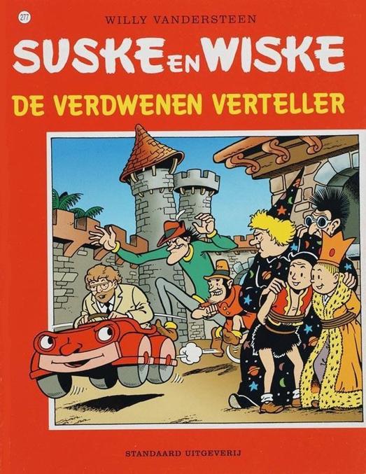 277 - Suske en Wiske - De verdwenen verteller