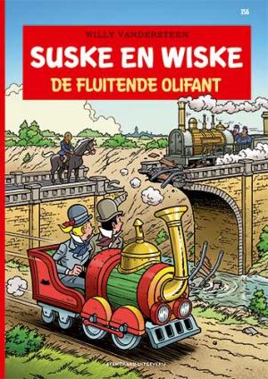 356 - Suske en Wiske - De fluitende Olifant