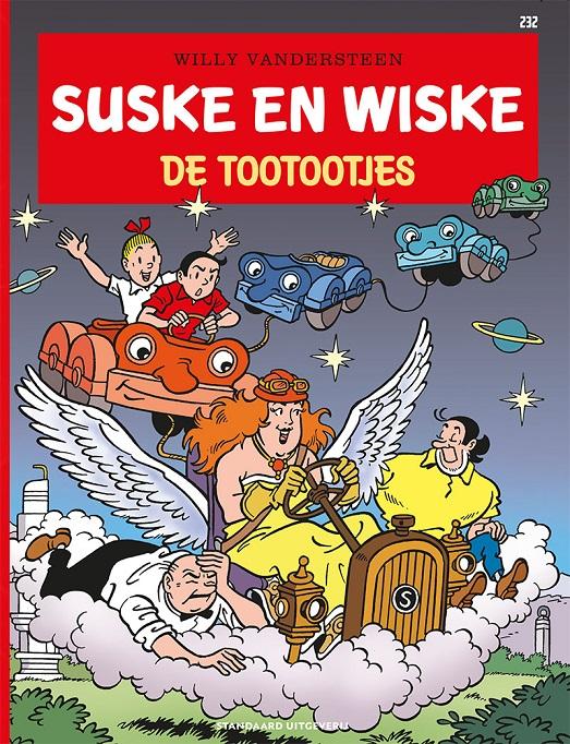232 - Suske en Wiske - De tootootjes - 2021