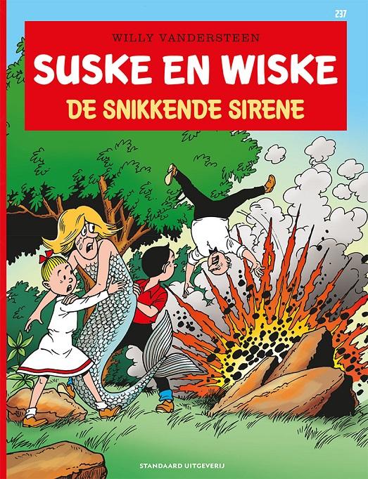 237 - Suske en Wiske - De snikkende sirene - 2021