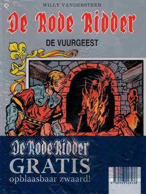 13 - De Rode Ridder - De vuurgeest (met opblaasbaar zwaard)