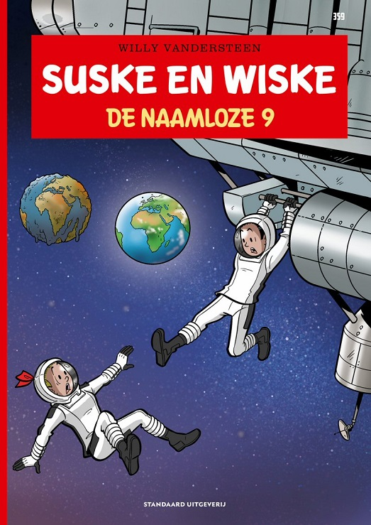 359 - Suske en Wiske - De naamloze negen (9)